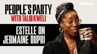 Estelle On Jermaine Dupri's Female Rappers Comments | People's Party Clip