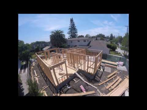 framing-2-story-house-in-palo-alto