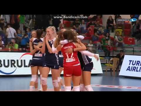 CEV-Challenge Cup Women: European Cup Winner Olympiakos last Point 11/04/2018 Olympiakos - Bursa