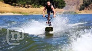Ryan Nyquist Invents New BMX Wakeboarding Sport!...