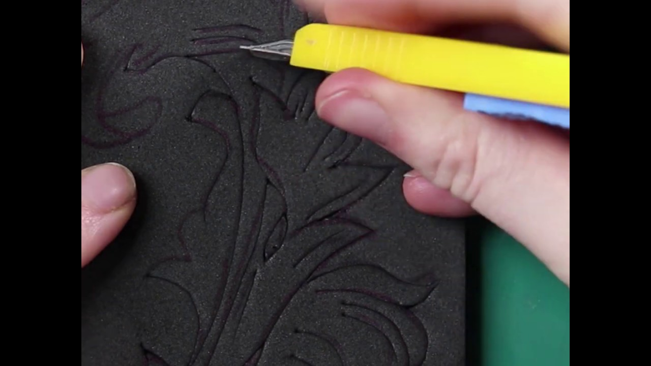 How to Add Detail to EVA Foam by Scoring & Heating