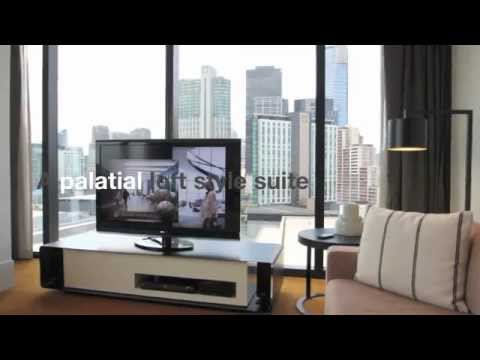 RoomCritic Hotel Video Review | Crown Metropol Room 1236