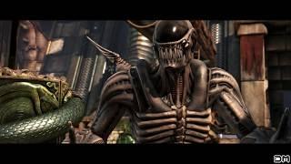 Mortal Kombat XL Alien Chestburster on All Characters