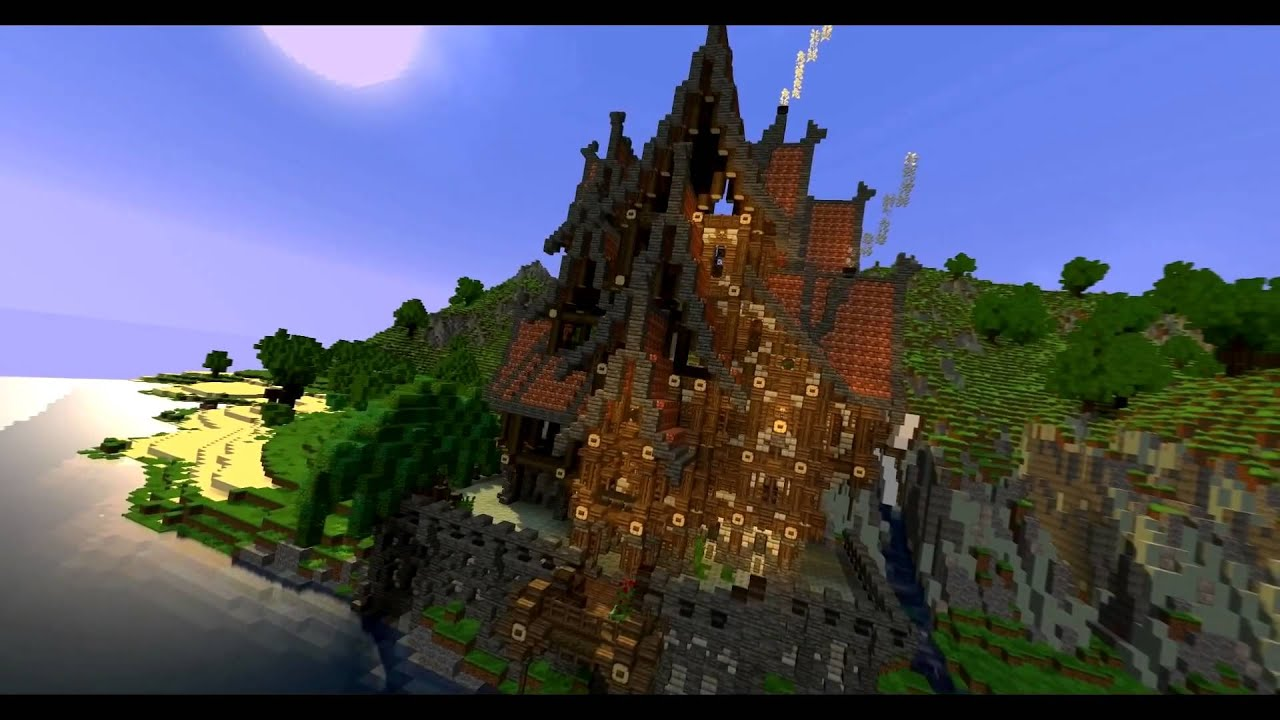 Minecraft Steampunk Timelapse By The Ascended