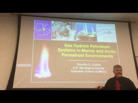 Gas hydrate petroleum system by Dr Tim Collett