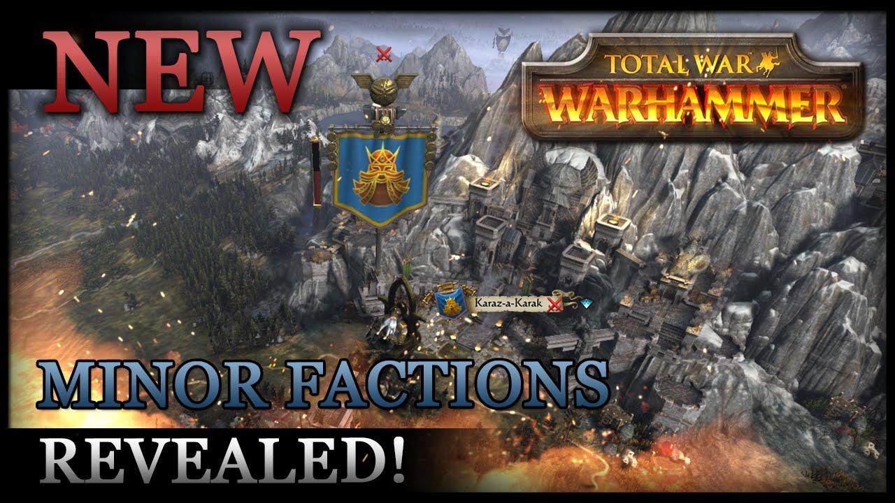 Warhammer Total War Playable Factions