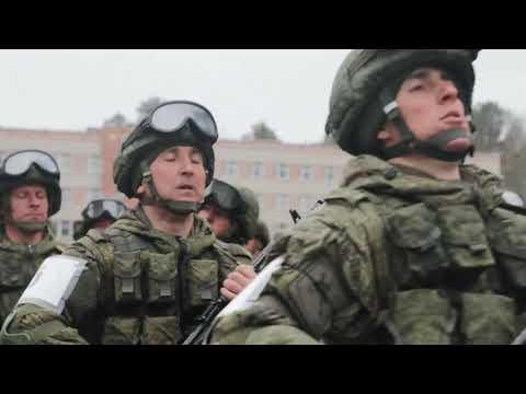 Тренировка парадных расчетов Новосибирского гарнизона