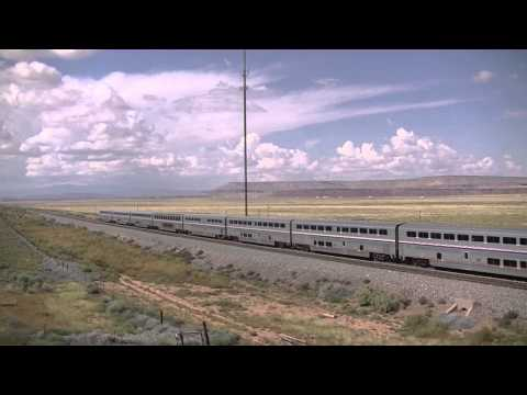 Amtrak Southwest Chiefs race across New Mexico