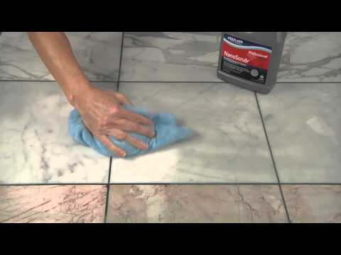 Removing Grout Haze from a Polished Marble Surface