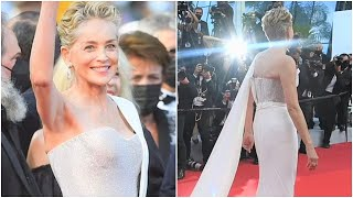 Sharon Stone Looks Super Hot at Cannes Film Festival