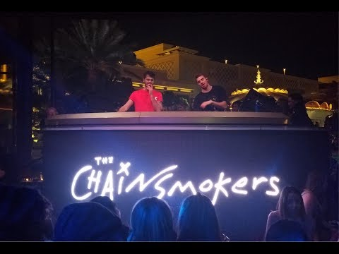 The Chainsmokers At XS - Closer | StewarTV