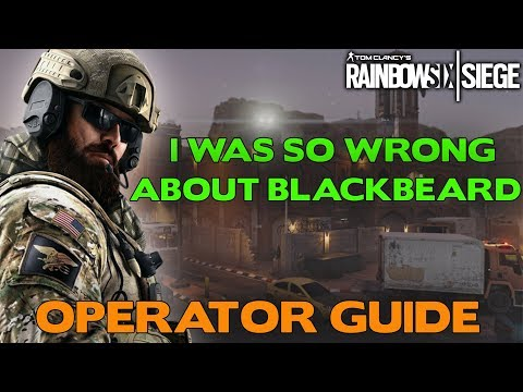 Blackbeard Operator Guide || Rainbow Six Siege Tips