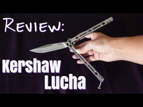 Kershaw Lucha Balisong Review