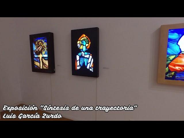 Exposición Síntesis de una trayectoria Luis García Zurdo