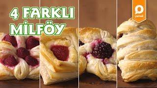 4 Farklı Milföy - Onedio Yemek - Tek Malzeme Çok Tarif