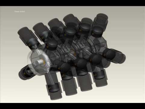 MULTI CYLINDER ROTARY ENGINE