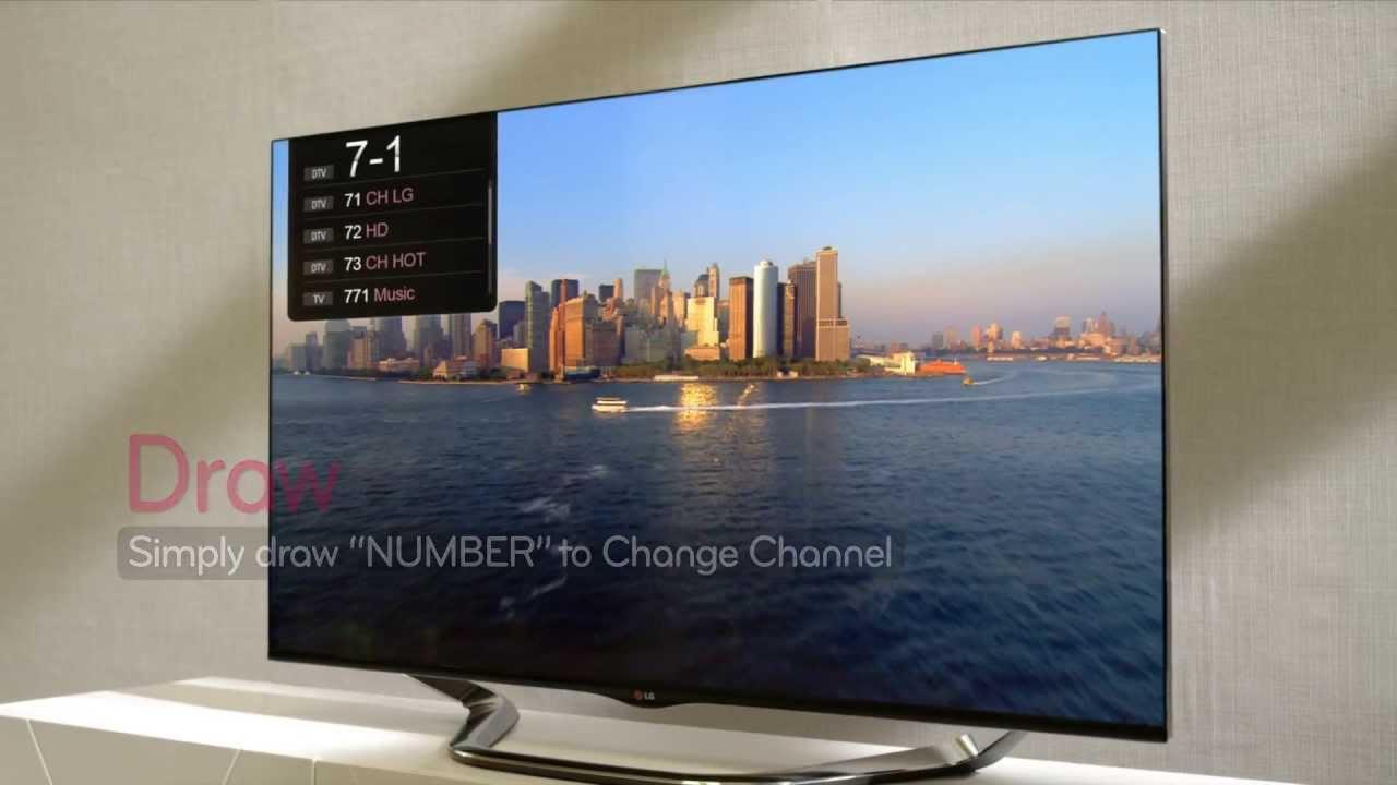 Spiksplinternieuw 2013 LG Cinema 3D Smart TV Intro - YouTube EG-11