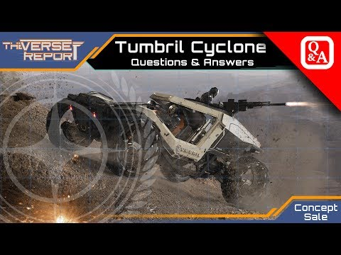 Star Citizen Tumbril Cyclone Questions & Answers zum Sale | Verse Report [Deutsch/German]