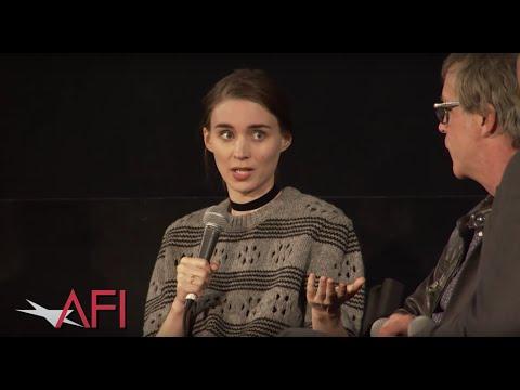CAROL director Todd Haynes and Rooney Mara