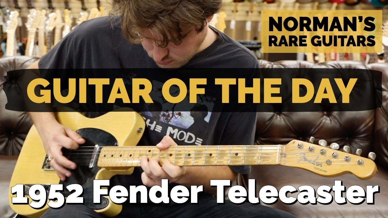 Guitar of the Day: 1952 Fender Telecaster| Norman's Rare Guitars