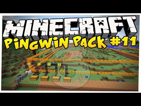 Minecraft: NAJWIĘKSZA KOPALNIA W HISTORII?! - PINGWIN PACK 3 [#11]