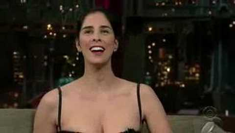 Sarah Silverman David Letterman Late Show
