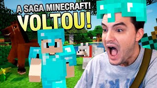 ANDEI SOBRE AS ÁGUAS! A VOLTA DO MINECRAFT #45