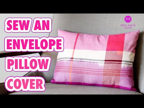 How to Sew and Envelope Pillow Cover - HGTV Handmade