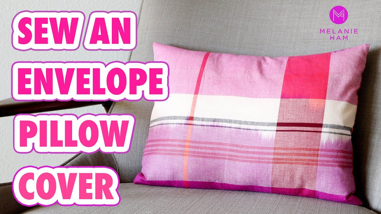 How to make a cushion cover with buttons