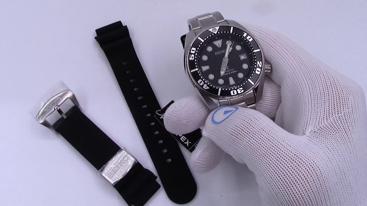 Upgrade your Seiko Dive Watch with a New Rubber Strap