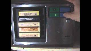 Vintage gadgets:  RCA 8 track tape changer