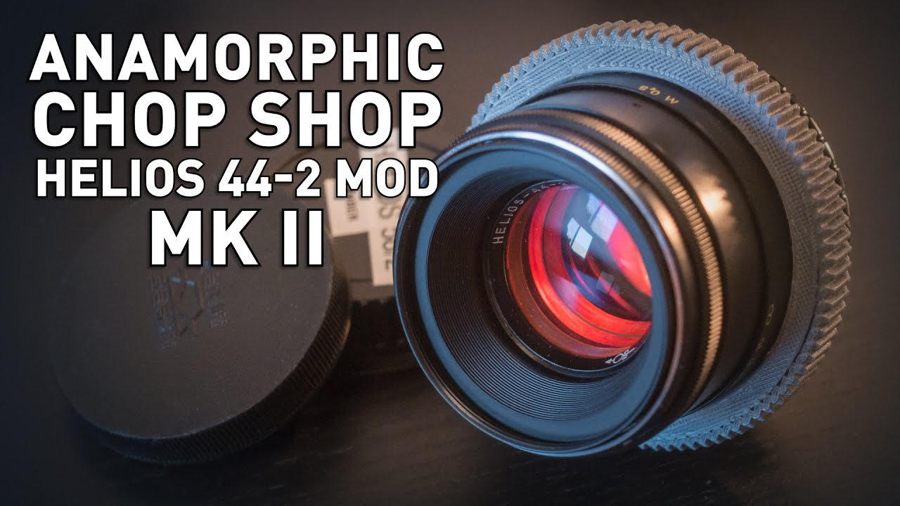 RedShark News - How to shoot anamorphic without breaking the bank