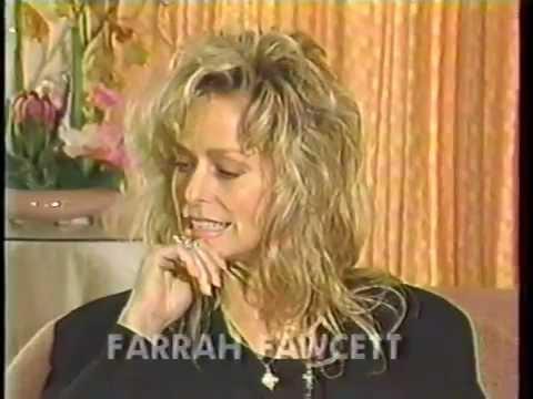 FARRAH FAWCETT - 42 - INTERVIEW - 1989