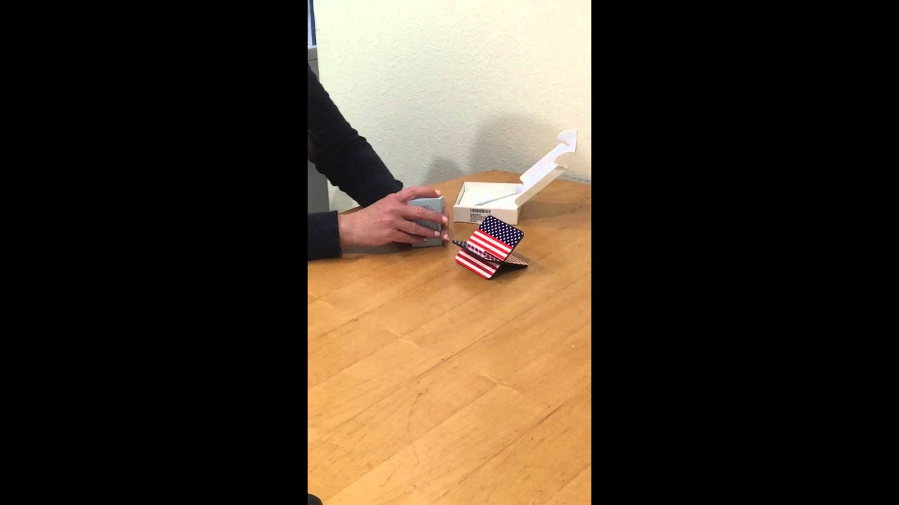 Patriotic Business Card Holder - YouTube
