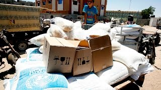 النظام يوافق على ايصال مساعدات الى داريا ودوما والمعضمية