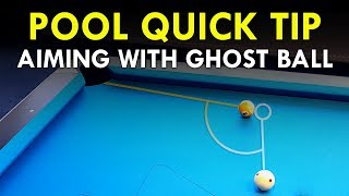 Pool Quick Tip | Ghost Ball Aiming System