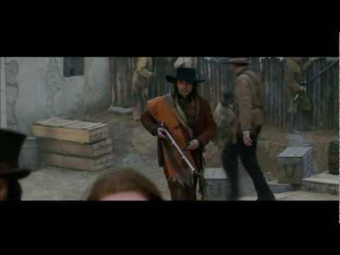 Davy Crockett Shoots Santa Anna