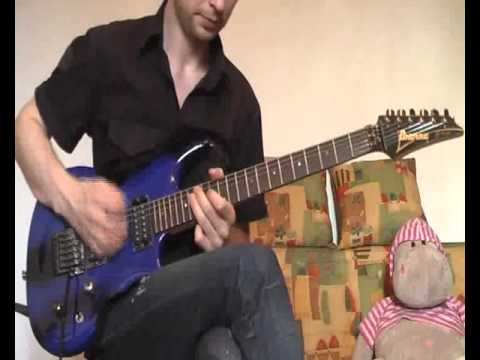"Ne-Yo ""So Sick"" Electric Guitar Cover Version 2.0"