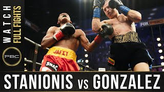 Stanionis vs Gonzalez FULL FIGHT: December 16, 2020 - PBC on FS1