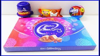 Cadbury Dairy Milk Lickables Gems Ball Big Chocolate Box Surprise Toys | Learn Colors Nursery Rhymes thumbnail