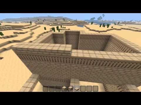 How To Build A Middle Eastern Desert House   Minecraft Tutorial ♥PopularMMOs,SkyDoesMinecraft♥