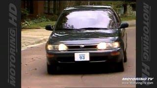 Test Drive: 1993 Toyota Corolla