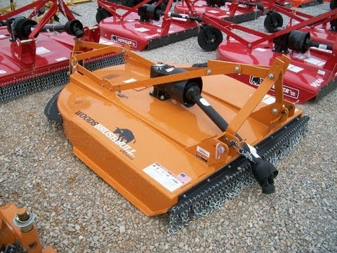 Woods Finish Mower Spindle