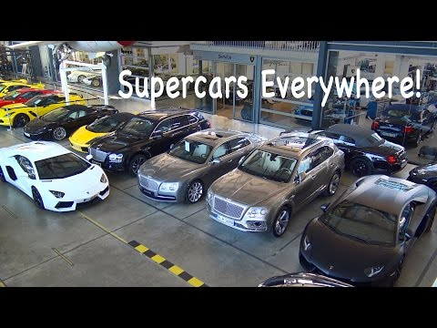 Motorworld Region Stuttgart - SUPERCARS EVERYWHERE!