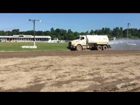 Fonda Speedway getting water