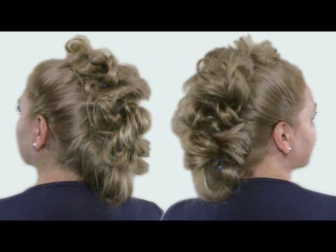 Прически для волос длинных волос видео уроки
