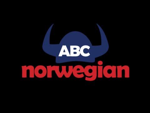Learn Norwegian language for free - 3 lesson