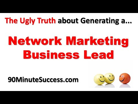 Automated Network Marketing Business Lead Generation System Revealed