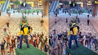 Dead Rising 2 Remaster PS4 Vs Pc Graphics Comparison