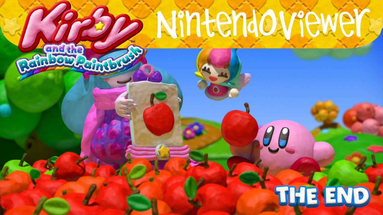 gameplay kirby and the rainbow paintbrush credits
